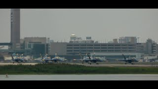 Download Blue Angels Depart From Boston! Video