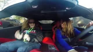 Download First ride in a Corvette Z06 Video