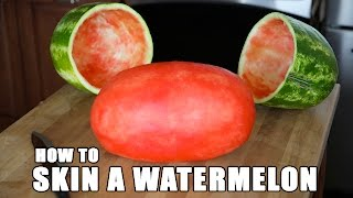 Download SKIN A WATERMELON party trick Video