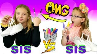Download 3 MARKER SHOE CHALLENGE!!! Video