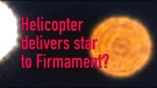 Download Nikon P900 films Helicopter carrying a star. Time for real Flat Earth science Video