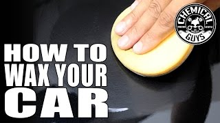 Download How To Wax Your Car - Chemical Guys Butter Wet Wax - Speed Wipe Video