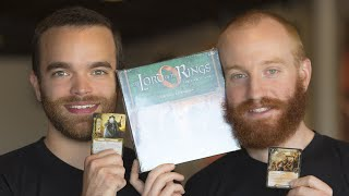 Download Lord of the Rings LCG - The Road Darkens Unboxing Video