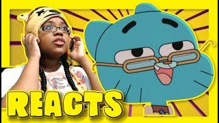 Download DDLC PORTRAYED BY GUMBALL by Soccersprinkle | Animation Reaction Video