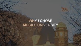 Download Why I Chose McGill University Video