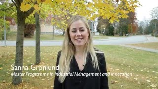 Download Master Programme in Industrial Management and Innovation - Uppsala University Video