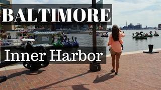 Download Baltimore Inner Harbor, Maryland - Travel Vlog! Video