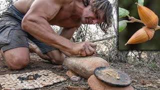 Download Making Primitive Acorn Pancake Video