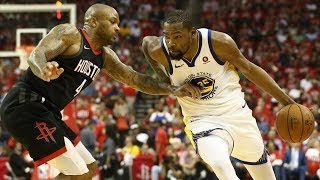 Download Warriors Win Game 1! Durant 37 Pts, Harden 41! 2018 NBA Playoffs Video