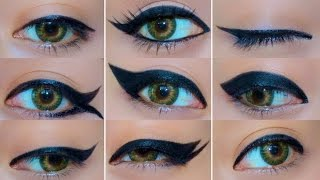 Download 9 Different Eyeliner Looks Video