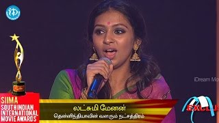 Download SIIMA 2014 Rising Star of South Indian Cinema || Laxmi Menon Video