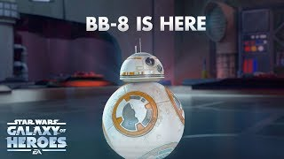 Download Star Wars: Galaxy of Heroes - BB-8 Trailer Video