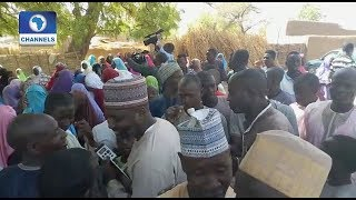 Download Jubilation In Dapchi Town As Abducted Girls Are Released Video