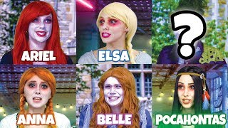 Download DISNEY PRINCESS ZOMBIES. AFTER HALLOWEEN VISIT TO ZOMBIETOWN. (Totally TV) Video