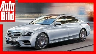 Download Mercedes S-Klasse Facelift (2017) - Details/Erklärung Facelift für die Luxus-Limousine Video