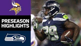 Download Vikings vs. Seahawks | NFL Preseason Week 2 Game Highlights Video