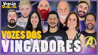 Download VINGADORES & THANOS   Encontro de Dubladores Video