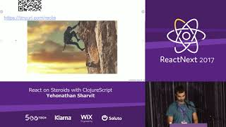 Download Yehonathan Sharvit: React on Steroids with ClojureScript — ReactNext 2017 Video