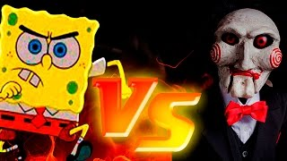 Download BOB ESPONJA NECESITA AYUDA | Bob Esponja Saw Game Parte 1 - ManoloTEVE Video