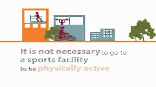 Download Animated infographic on physical activity Video