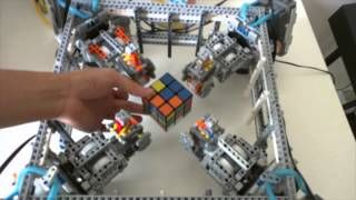 Download Lego Robot Rubik's Cube Solver Video