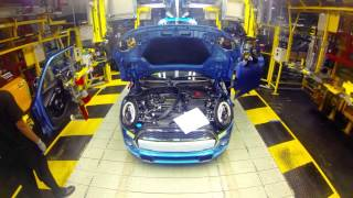 Download Timelapse footage of a MINI as it goes through production process Video