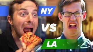 Download The Try Guys Try To Find The Best Pizza • NY Vs. LA Video
