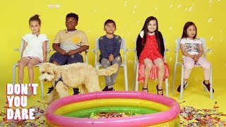Download We Challenged Kids to Stay Completely Still | Don't You Dare | HiHo Kids Video