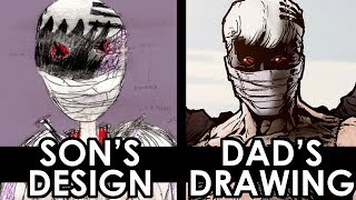 Download SON'S DESIGN - DAD'S DRAWING! Video