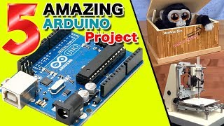 Download 5 AMAZING Arduino project DIY Video