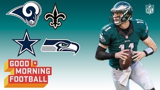 Download Which Team is the Eagles' Biggest Threat in the NFC? | Good Morning Football | NFL Network Video