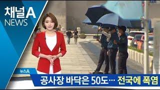 Download 공사장 바닥 50도에 작업 중단…전국 찜통더위 Video