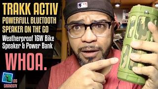 Download TRAKK ACTIV Bluetooth Speaker/PowerBank 🔊 + 🔋 : LGTV Review Video