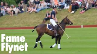 Download Zara Phillips And Prince Harry Watch Prince William Play Polo In Beaufort Park Video