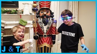 Download The Toy Collector uses the Nutcrakers to spy on us! Spy Detetive Case 3 - Jake and Ty Video