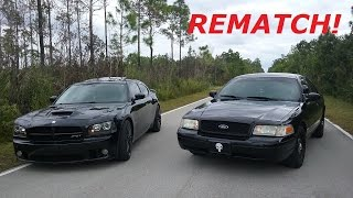 Download REMATCH Crown Victoria V.S Charger SRT8 Video