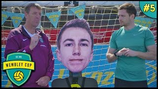 Download SEARCH FOR A STRIKER: TARGET PRACTICE! - Wembley Cup 2015 #5 feat. F2 Freestylers Video
