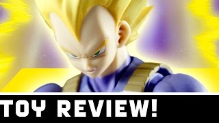 Download S.H. Figuarts NEW Super Saiyan Vegeta Cell Saga Toy Review! - Toy Pizza Video