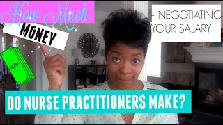 Download How Much Money Do Nurse Practitioners REALLY Make??? + How to negotiate your salary! Video