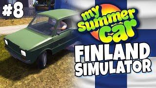 Download My Summer Car - Finland Simulator #8 - Car Towing Video