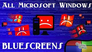 Download ALL MICROSOFT WINDOWS BLUESCREEN OF DEATH Video