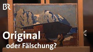 Download Ölbild vom Berghof von Alfons Walde: Original oder Fälschung? | Kunst + Krempel | BR Video