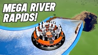 Download Planet Coaster : WORLDS FASTEST RAPIDS RIDE EVER! Video
