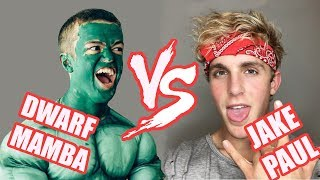 Download Dwarf Mamba Vines VS Logan Paul's Brother :P (Jake Paul) Vines | Who Is The Winner? Video