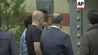 Download Turkish/Saudi joint 'inspection' arrives at Saudi Consulate Video