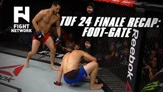 Download TUF 24 Finale Recap: Jorge Masvidal Wins by TKO After Jake Ellenberger's Foot Caught in Cage Video