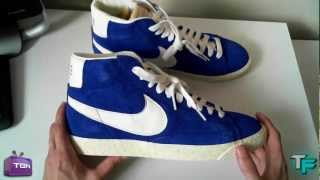 Download Nike Blazer Hi Suede Vintage Blue/White Unboxing Video