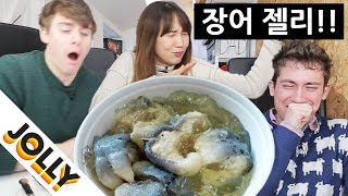 Download EEL JELLY!! (WEIRDEST British food!) Video