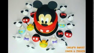Download Mickey Mouse Cake & Cupcakes ( part 1 ) Video