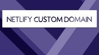 Download Setup Custom Domain On Netlify Video